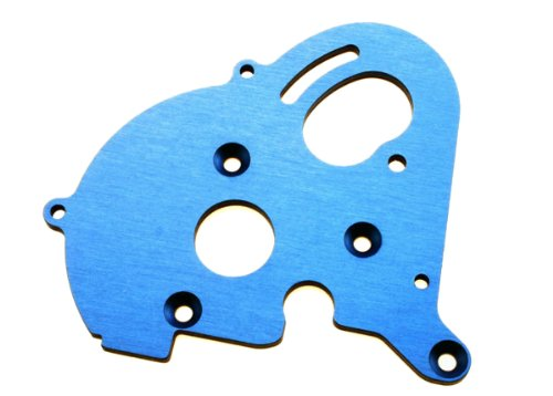 Traxxas 3997X Blue-Anodized Aluminum Single Motor Plate, E-Maxx