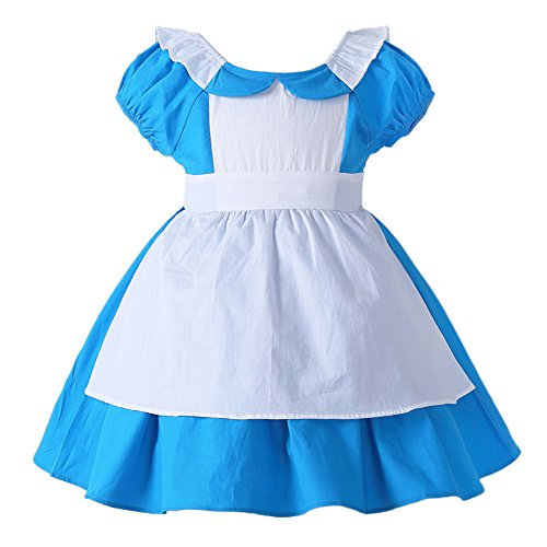 JiaDuo Little Girls Princess Dress Up Cotton Halloween Party Costumes 4-5T