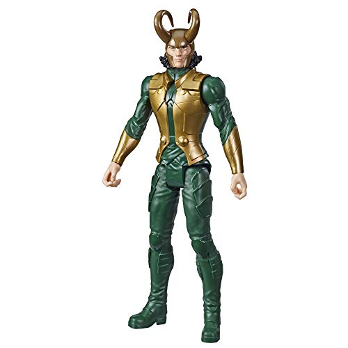 Avengers Marvel Titan Hero Series Blast Gear Loki Action Figure, 12' Toy, Inspired by The Marvel Universe, for Kids Ages 4 & Up