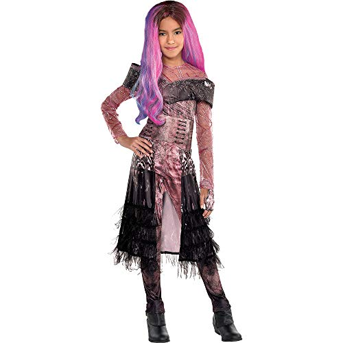 Party City Descendants 3 Audrey Halloween Costume for Girls, Disney, Small (4-6), Includes Jumpsuit and Accessories