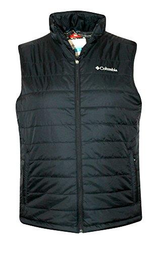 Columbia Crested Butte II Omni Heat Mens Vest, Black (Small)