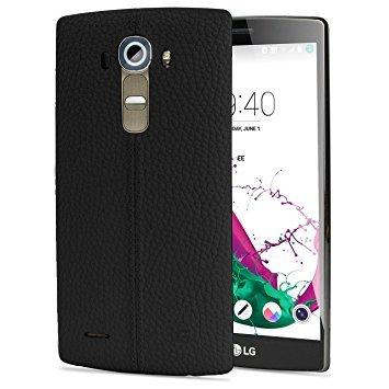 LG G4 GSM Unlocked 32GB Mobile Phone (Leather Black) - International Version No Warranty