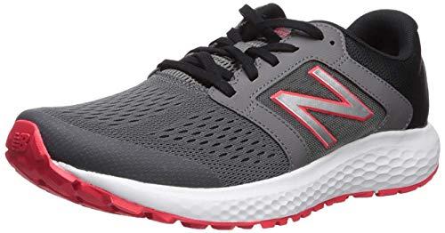 New Balance Men's 520 V5 Running Shoe, Castlerock/Energy Red, 11 M US