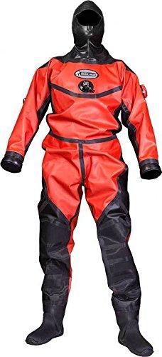 Aqualung Military & Professional HAZMAT PS Drysuit - Large (Fleece Hood & Bag Included)