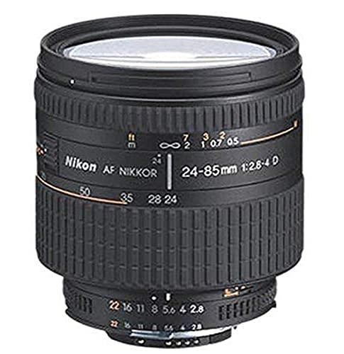 Nikon AF FX NIKKOR 24-85mm f/2.8-4D IF Zoom Lens with Auto Focus for Nikon DSLR Cameras