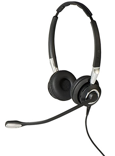 Jabra 2400 II USB Duo BT Bluetooth Headset - Black