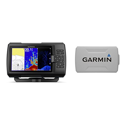 Garmin STRIKER Plus 7cv with CV20-TM Transducer and Protective Cover, 7 inches 010-01873-00