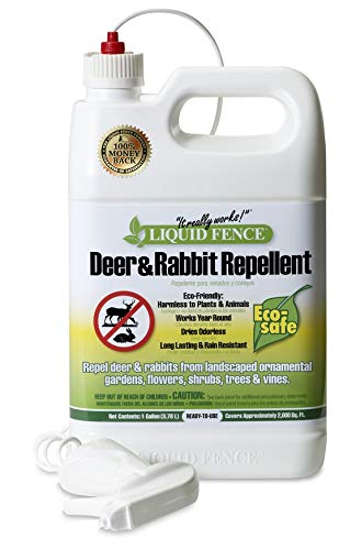 Liquid Fence 109 Ready-to-Use Deer and Rabbit Repellent 1 Gallon