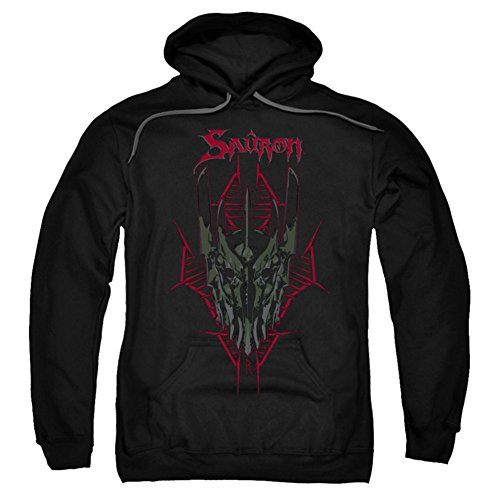 Hoodie: The Hobbit: The Battle of the Five Armies - Evil's Helm Pullover Hoodie Size L