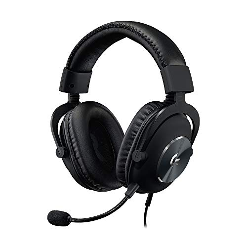 Logitech G PRO X Gaming Headset (2nd Generation) with Blue Voice, DTS Headphone 7.1 and 50 mm PRO-G Drivers, for PC, Xbox One, Xbox Series X|S,PS5,PS4, Nintendo Switch, Black