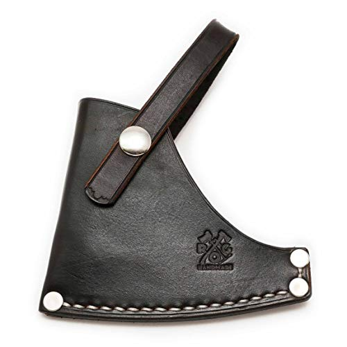 Review Outdoor Gear Axe Sheath/Mask/Cover for The Council Tool 2# Hudson Bay Camp Axe 28' Curved HandleAxe (Brown)