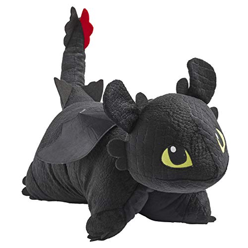 Pillow Pets How to Train Your Dragon Toothless Plush - NBCUniversal 16' Stuffed Animal Toy