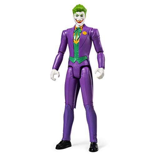 BATMAN, 12-Inch THE JOKER Action Figure Toy, Kids Toys for Boys Aged 3 and up