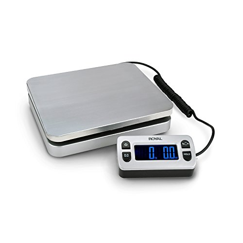 Royal Consumer DG Electronic Shipping Scale (110lb Capacity)