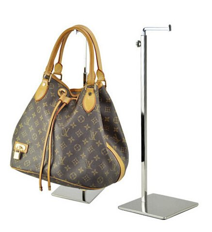 Metal Bag Display Rack Women Handbag Stand Holder with Adjustable Height