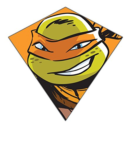 Nickelodeon Teenage Mutant Ninja Turtles 23'-Wide Nylon Diamond Kite--'Michelangelo'