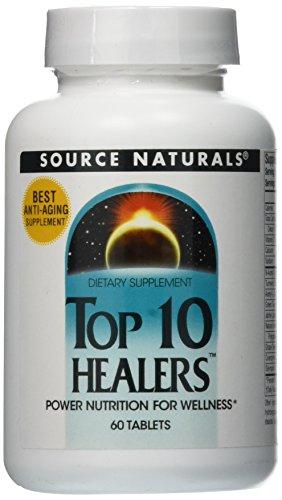 SOURCE NATURALS Top 10 Healers Tablet, 60 Count