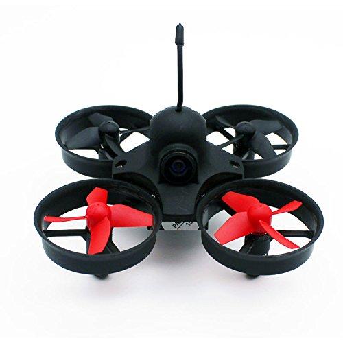 Poke FPV Indoor Mini UFO Quadcopter Drone Mini RC Helicopter Drone 5.8G 25mW Camera Headless Mode P010