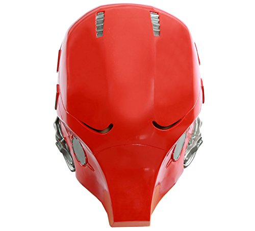 Xcoser Updated Red Hood Mask PVC Helmet Full Head Adult Halloween Collectable V2