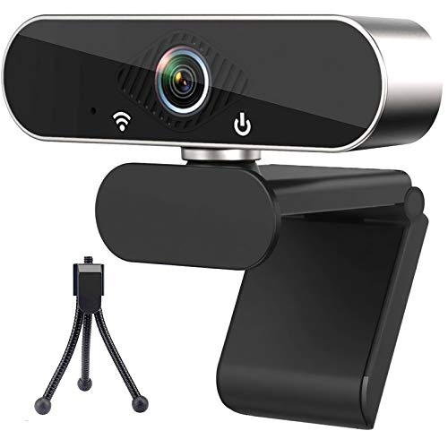 1080P Webcam with Microphone, USB Web Camera for Computer, Streaming Webcam for PC Laptop/Desktop, Zoom/Skype/Teams/YouTube/Facetime
