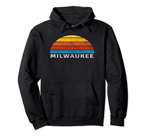 Milwaukee Retro Sunset Hoodie