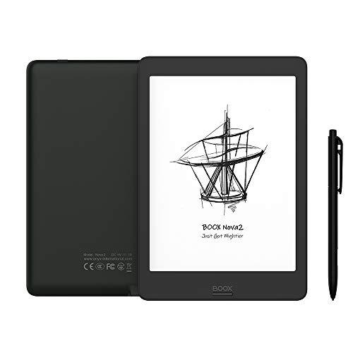 BOOX Nova2 7.8 ePaper E Note, 300 DPI Android 9.0 Front Light Dual Touch USB OTG E-Reader