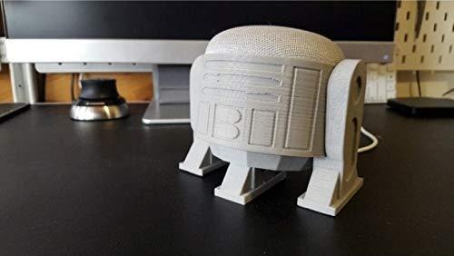 R2D2 Astromech Droid Stand for Google Home Mini Smart Speaker WHITE