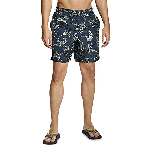 Eddie Bauer Men's Amphib Tidal Shorts - 8', Carbon Regular XL