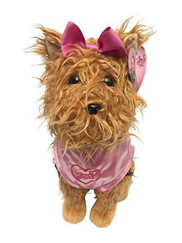 Nickelodeon JoJo Siwa BowBow the Dog Plush 17' Pillow Buddy with Pink Sparkle Jacket'