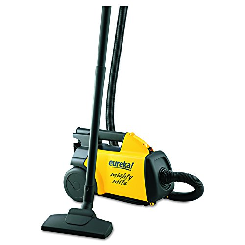 Eureka 3670G Lightweight Mighty Mite Canister Vacuum, 9A Motor, 8.2 lb, Yellow