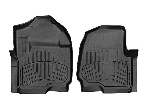 WeatherTech FloorLiner HP for Ford F-250/F-350/F-450/F-550 (4410121IM) 1st Row (Driver & Passenger) - Black