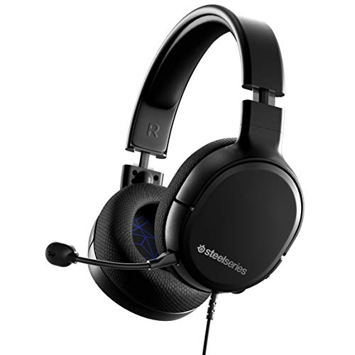 SteelSeries Arctis 1 Wired Gaming Headset – Detachable ClearCast Microphone – Lightweight Steel-Reinforced Headband – For PS5, PS4, PC, Xbox, Nintendo Switch, Mobile (Renewed)