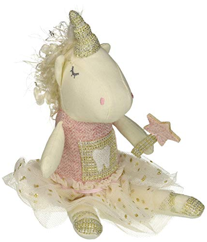 Mud Pie Unicorn Tooth Fairy Pink One Size