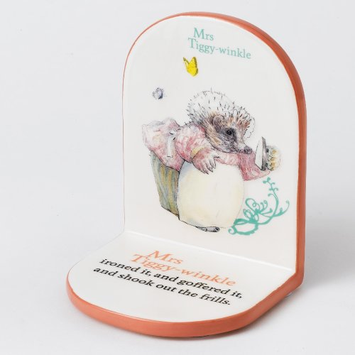 Beatrix Potter Mrs Tiggywinkle Bookend by