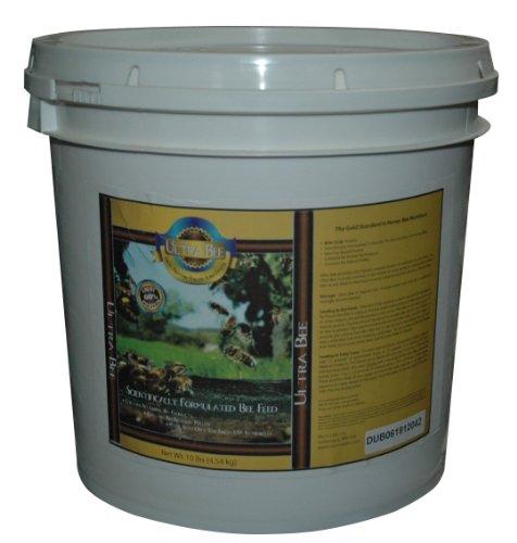 Mann Lake FD210 Ultra Bee Dry Feed Pail, 10-Pound