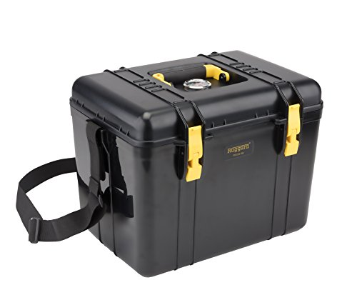 Ruggard Portable Dry Case with Fabric Insert (Black, 22.4L)