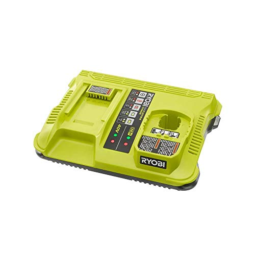 RYOBI P137 ONE+ Lithium-Ion Dual Platform Charger for RYOBI 18-Volt ONE+ and 40-Volt Batteries