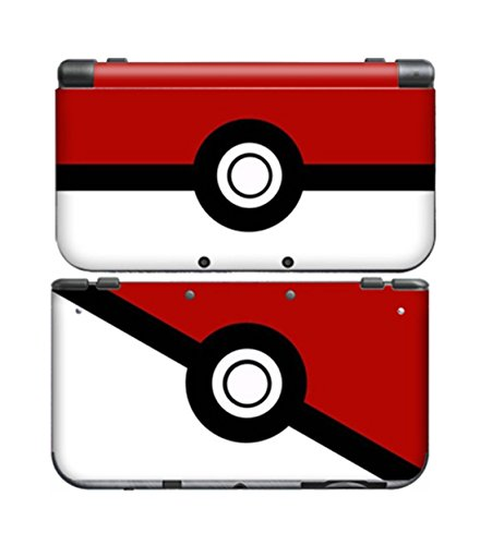 POKEMON POKEBALL for New Nintendo 3DS Skin New3DS N3DS Decal Sticker Vinyl Cover + Screen Protectors