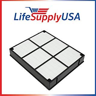 LifeSupplyUSA Replacement HEPA Filter Compatible with Hamilton Beach 04912 TrueAir Air Purifier Models 04160, 04161, 04150