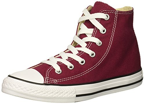 Converse Baby-Girl's Chuck Taylor All Star 2018 Seasonal High Top Sneaker, Maroon, 2 M US Infant