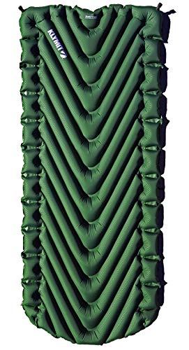 Klymit Static V Luxe Sleeping Pad for Camping, Hiking, and Backpacking, Forest Green (Gear Aid)