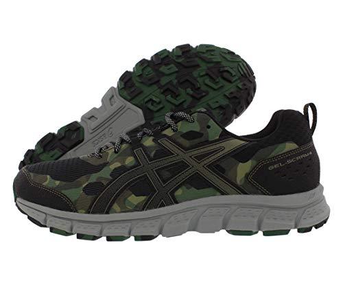 ASICS Men's Gel-Scram 4 Running Shoes, 12M, Black/Irvine