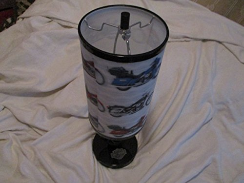 Harley Davidson Electric Portable Desk Lamp with Luminaire Shade