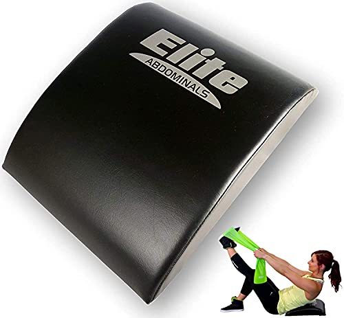 Elite Sportz Equipment Ab Mat – High Density Foam Sit Up Mats - Comfortable Workout Accessories for Upper & Lower Abs, Obliques & Back Support w/ Band