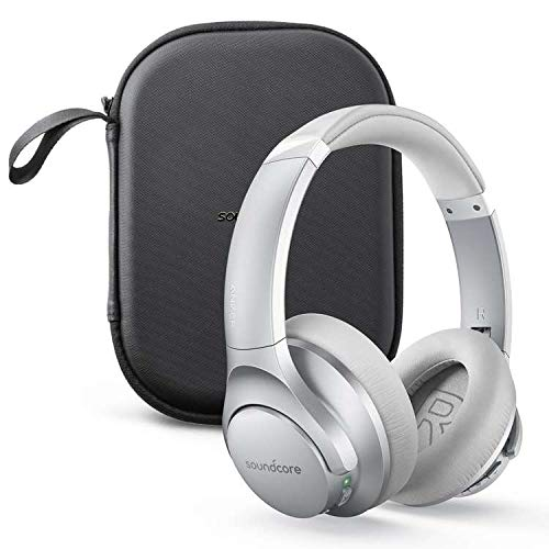 Soundcore by Anker Life Q20 Bluetooth Headphones Holiday Edition with Travel Case, Hybrid Active Noise Cancelling, 40H Playtime, Hi-Res Audio, Deep Bass, Wireless Over Ear Headphones for Travel, Work