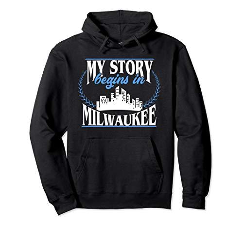 Milwaukee shirt | Born in Milwaukee Pullover Hoodie