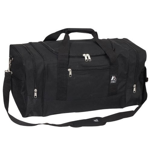 Everest Luggage Sporty Gear Bag - Large, Black, Black, One Size