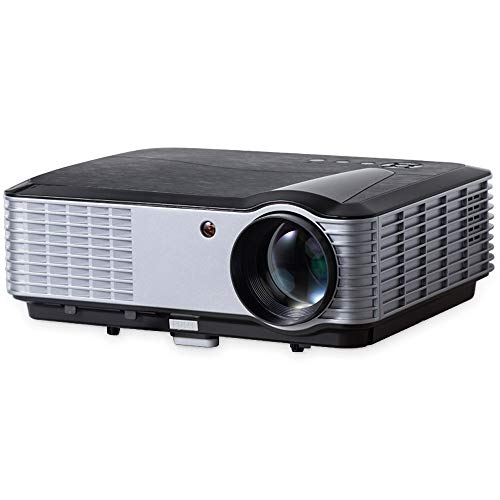 iCODIS T700 Video Projector, Native Full HD 1080P Digital Projector 4000 Lux with 200' Display, 50,000 Hrs Lamp Life Compatible with TV Stick, PS4, Blue Ray, DVD Player and Smartphone for Home Theater