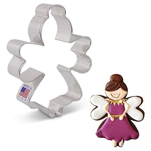 Ann Clark Cookie Cutters Sugar Plum/Tooth Fairy/Angel Cookie Cutter by LilaLoa, 4.5'