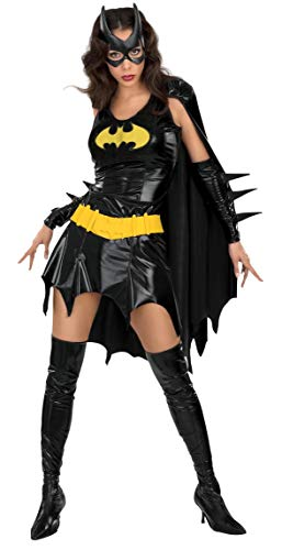 Secret Wishes Women's DC Comics Deluxe Batgirl Costume, As Shown, Small